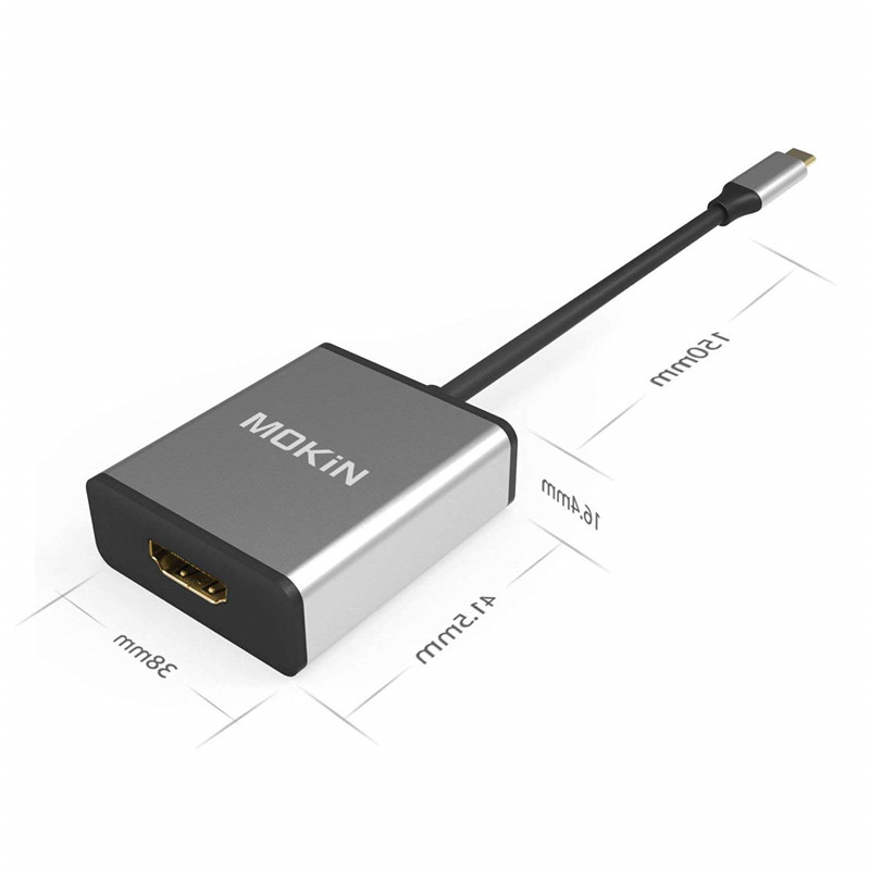 USB C To HDMI @30hz Space Gray