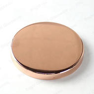 Custom Size Rose Gold Copper Metal Candle Lid For Sale