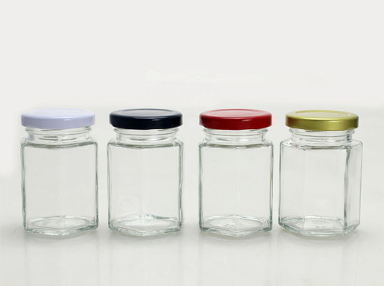 Candy jar (a transparent glass jar for candy)