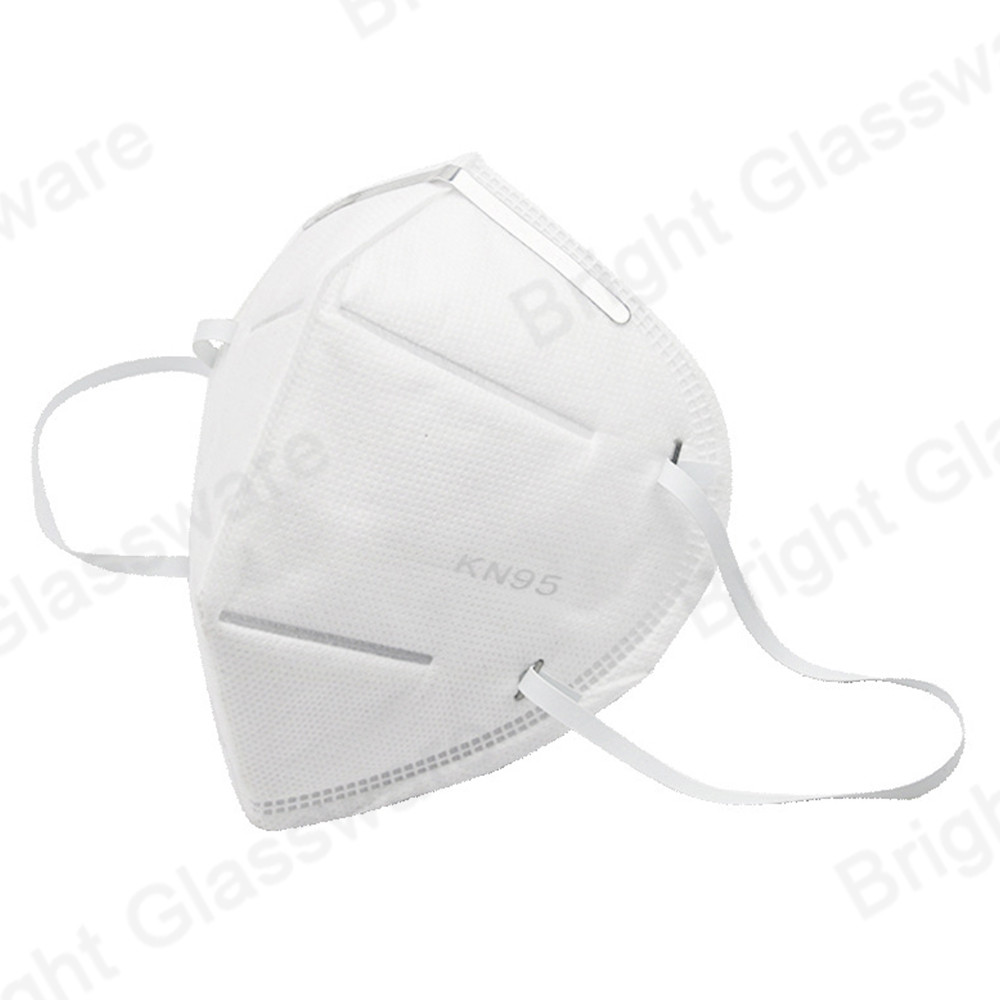 Ce FDA Anti Pollution Disposable Earloop Kn95 Face Mask