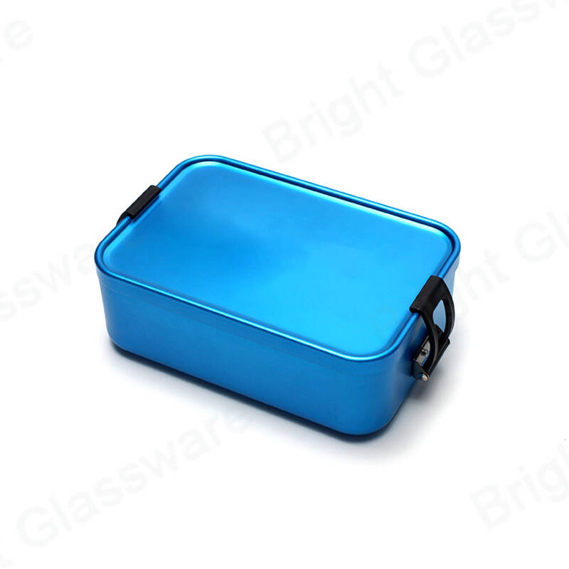 Food grade colorful meal prep containers heat resistant microwavable tiffin lunch box for school kids