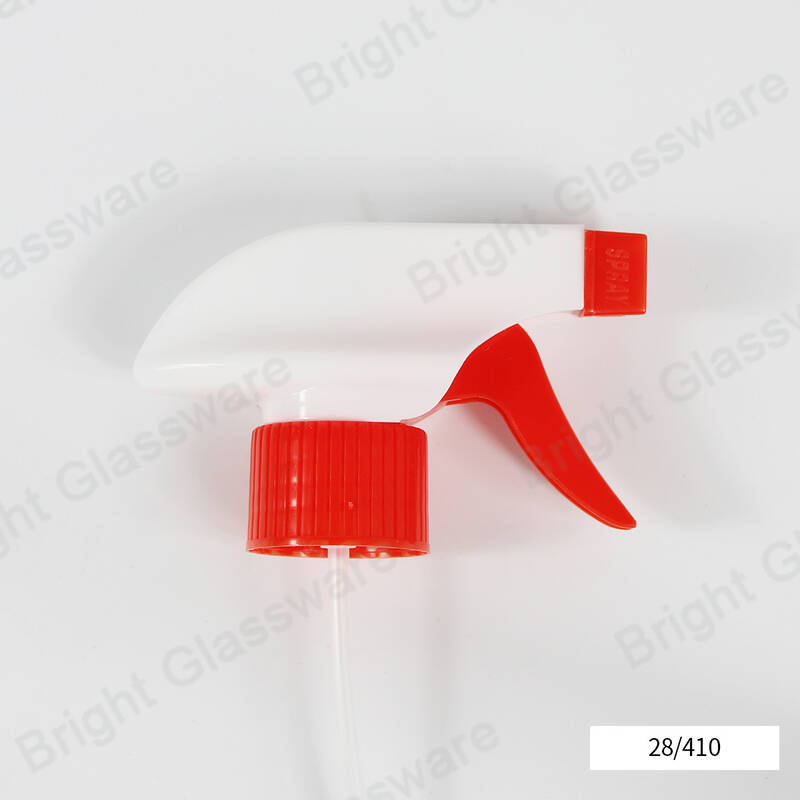 100ml plastic trigger sprayer bottle with fine mist sprayer for cosmetic hair care mousse
