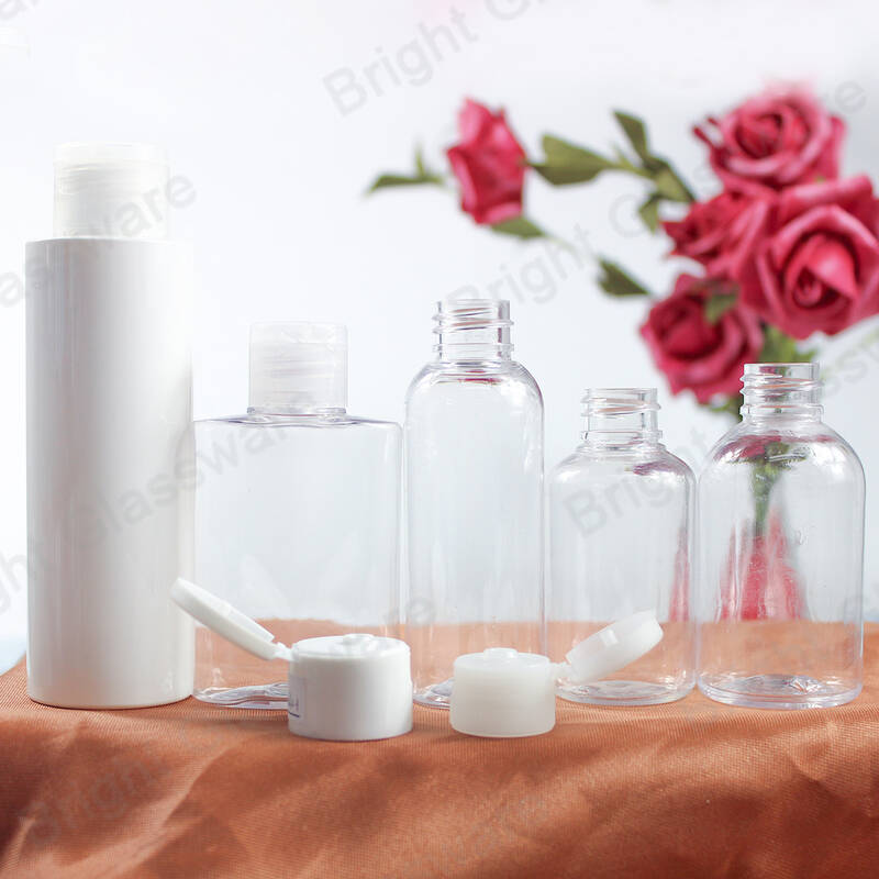 50ml Empty PET bottles with flip top cap used for Hand Washing