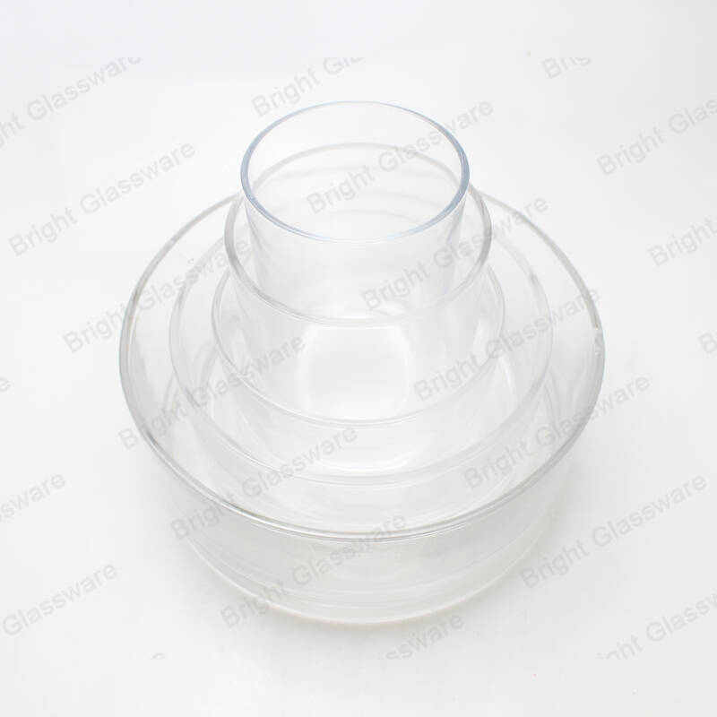 clear round different size glass votive candle holders large candle holder huge glass candle jar