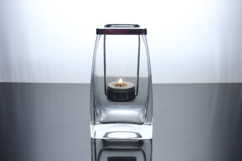 clear cube candle jar square tealight holder for weddings parties and home decor