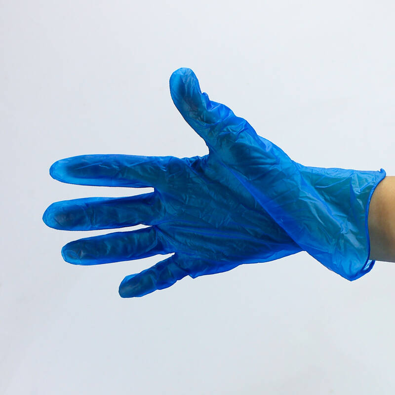 medical vinyl disposable gloves latex nitrile gloves powder free PVC gloves in China