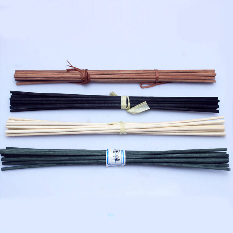 wooden natural rattan reed diffuser sticks for home air fresheners