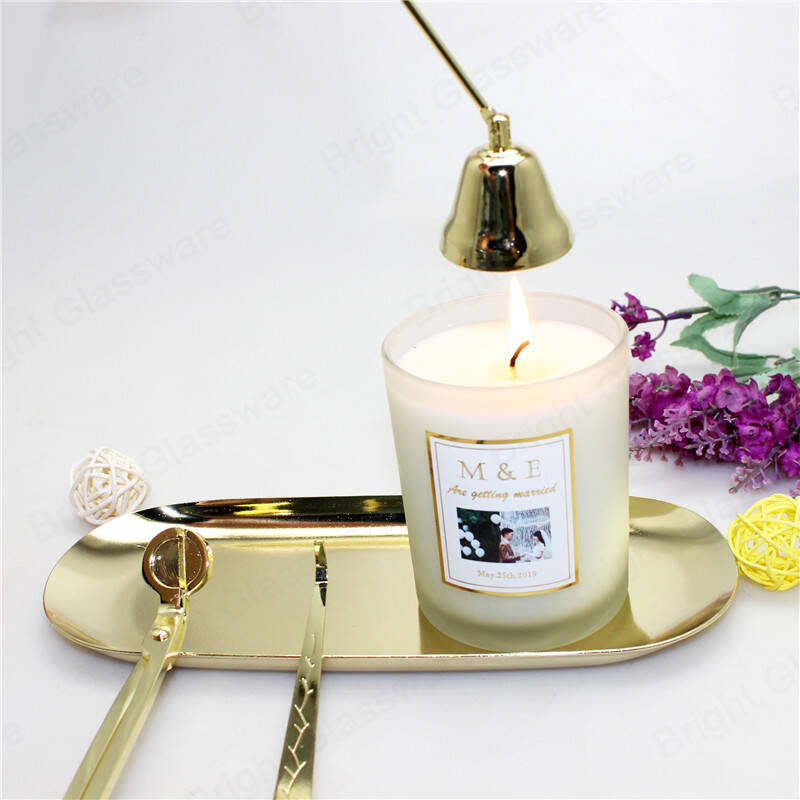 hot selling candle accessory care kit black rose gold candle snuffer set wholesale