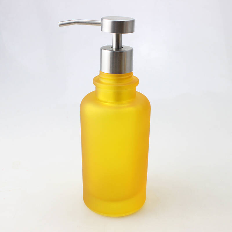 luxury soap dish box soap dispenser tumbler mug tooth brush holder yellow glass bathroom accessories sets