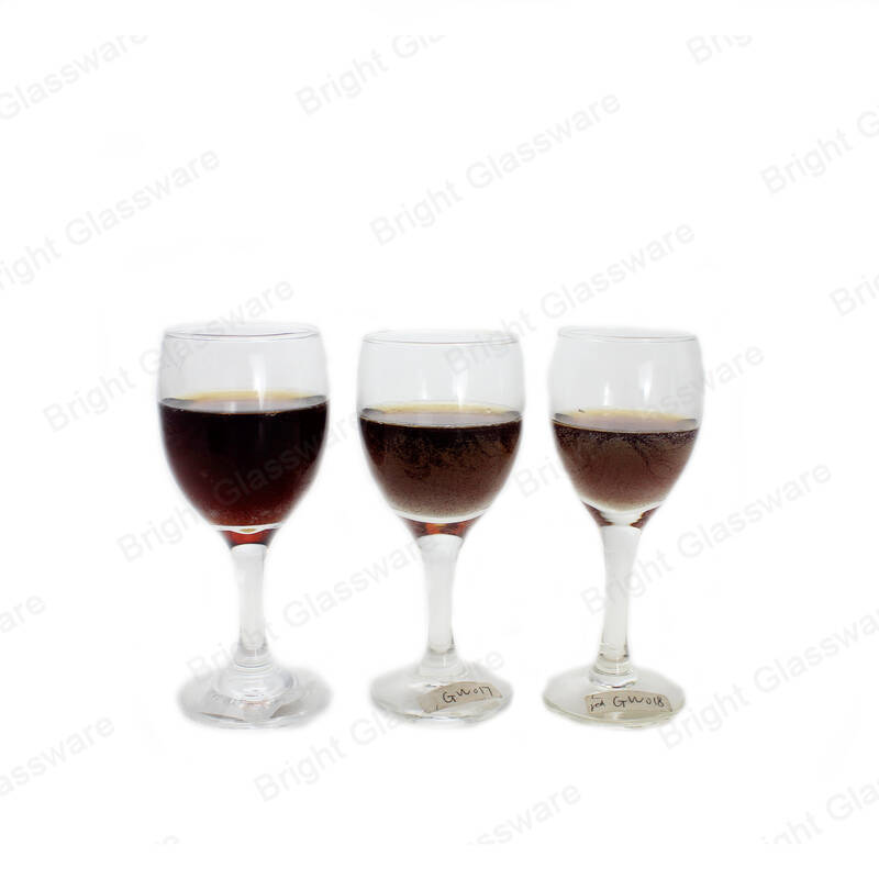 handmade glass goblet crystal balloon wine glass for red wine
