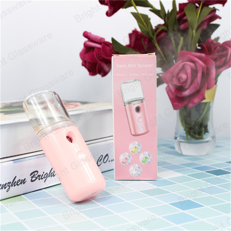 wireless handheld portable mini 30ml nano fine mist sprayer facial moisturizing sprayer nano facial steamer