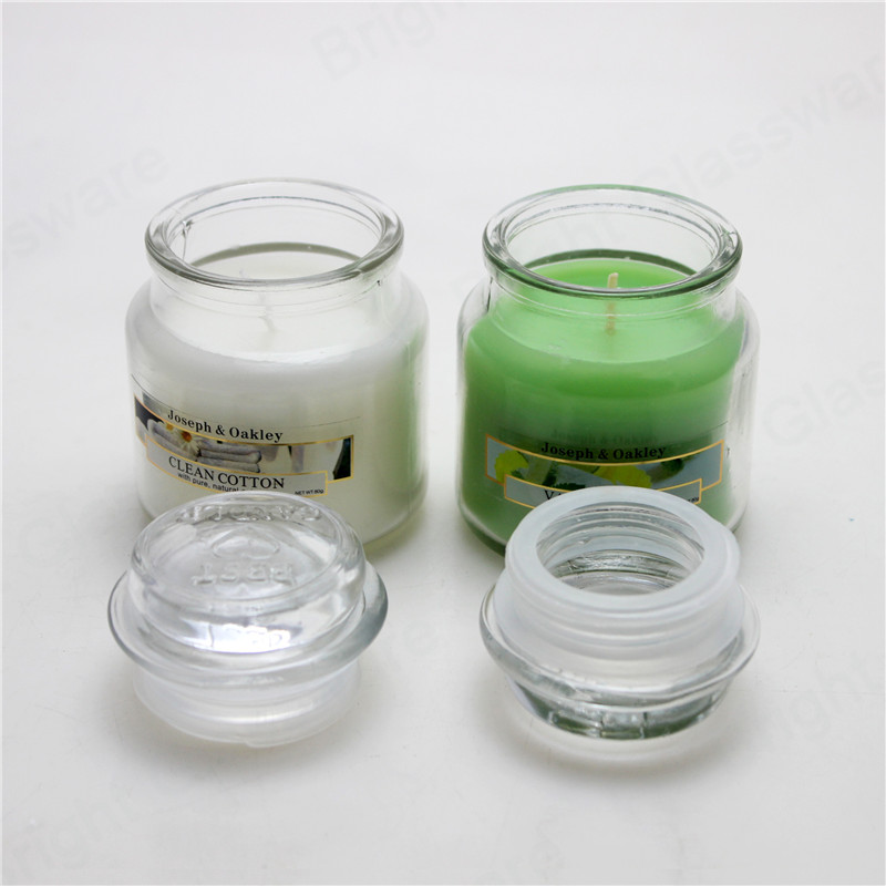 mini 5oz mason jar candle scented glass jar candle with lid