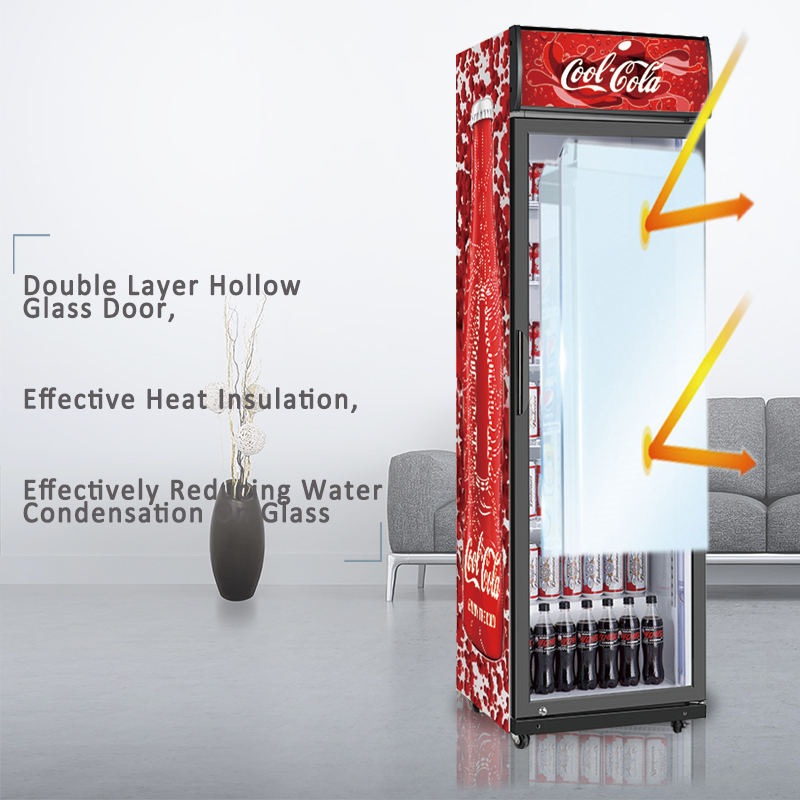 odm-glass-door-beverage-fridge