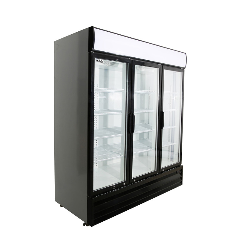 Triple Door Upright Large Beverage Cooler