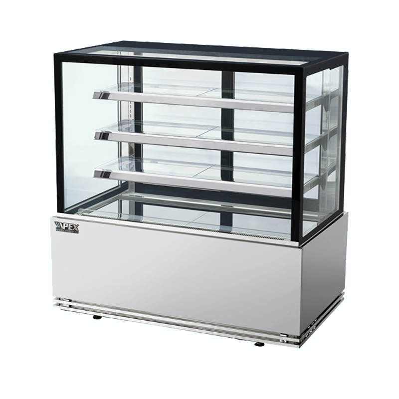 Floor Standing Bakery Display Fridge(4 SHELF SQUARE)