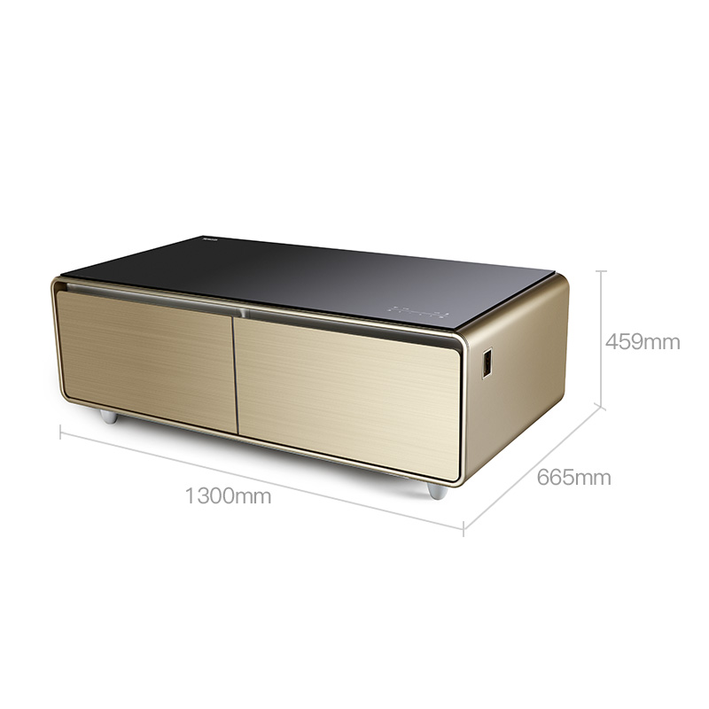 Smart Music Table Fridge with bluetooth music Player