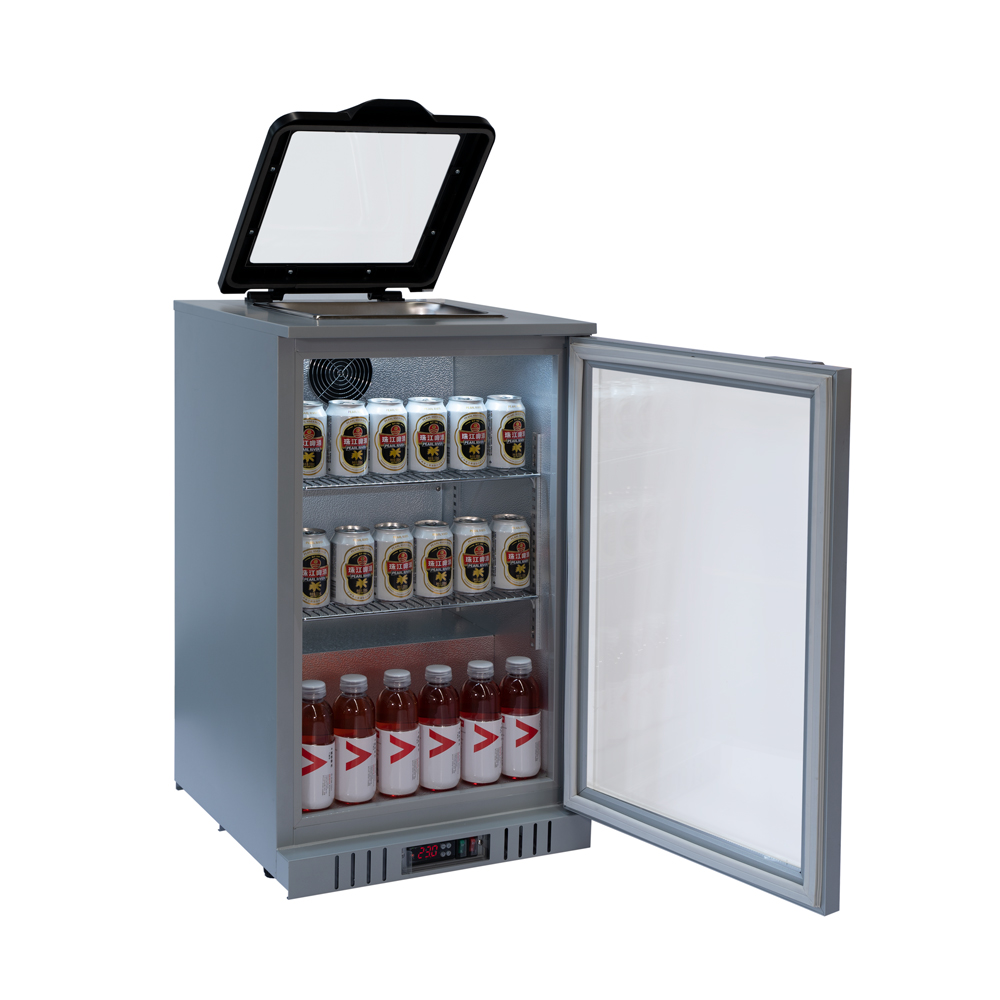 Back Bar Gn Pan Display Cooler