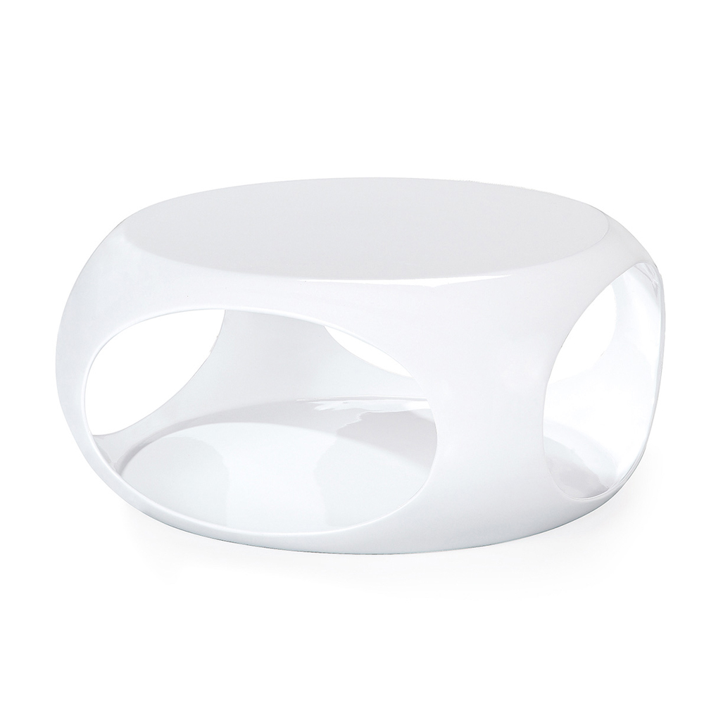 HT017 Color Oval Shape Coffee Table