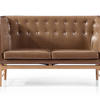 GS005 Loveseat Italian Leather Sofa
