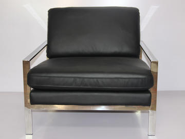 HC005 Single Seat Italian Leather Sofa