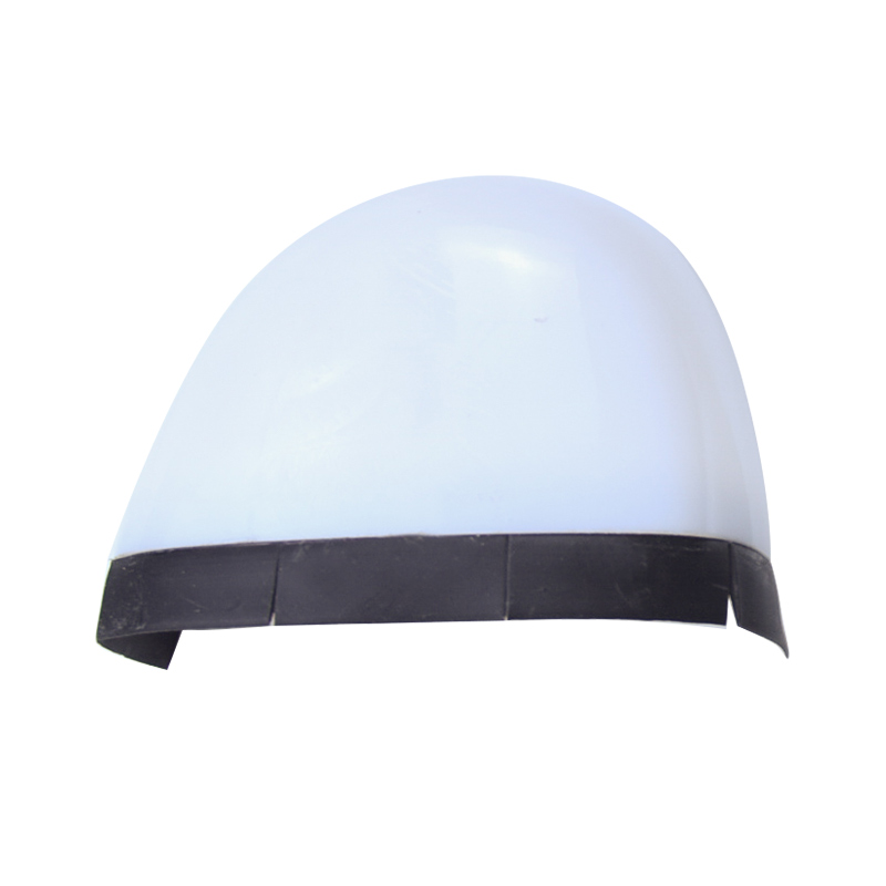 Rubber strip toe cap with plastic material EN12568