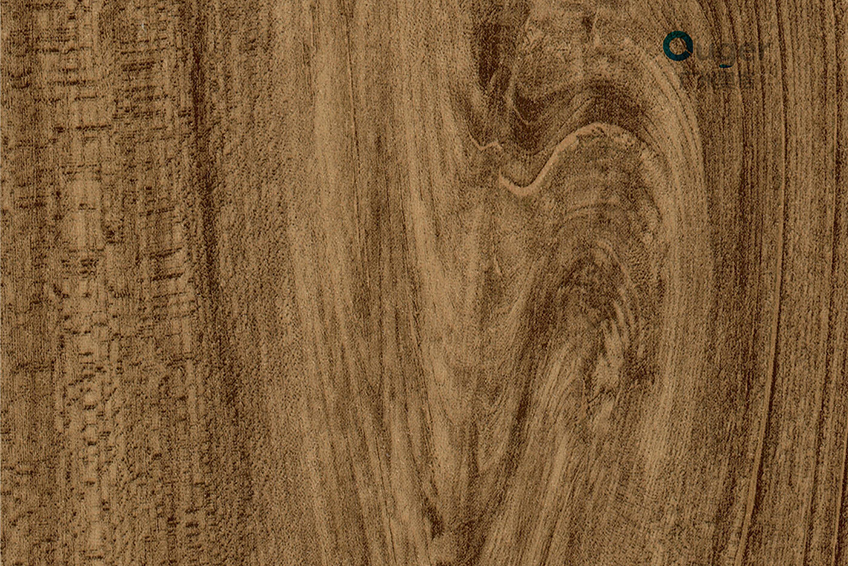 Wood grain printed PVC film