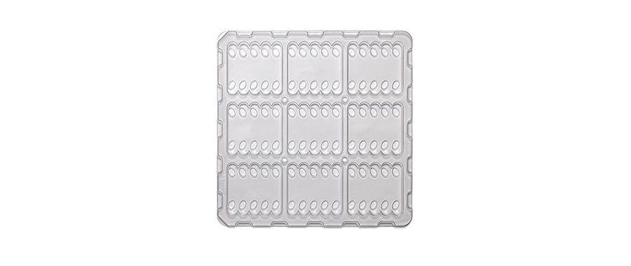 PET Blister Products flat blister tray