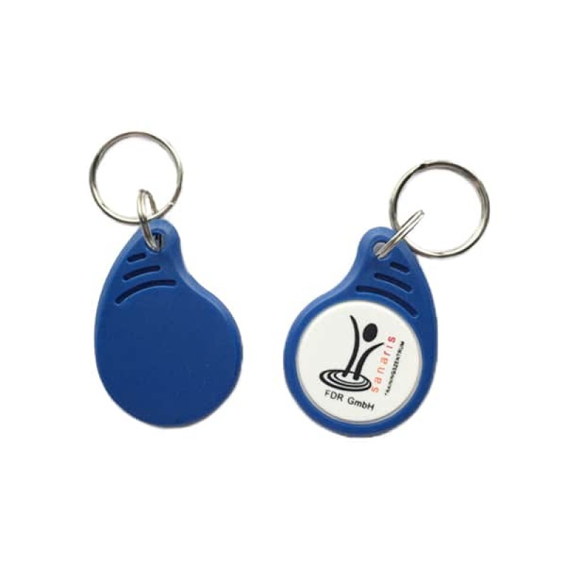 13.56MHZ ABS TYPE 2 NTAG213 NFC KEY FOB WITH LOGO From Xinyetong