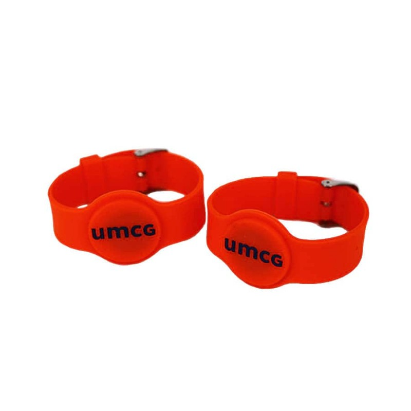 HF SILICONE RFID WRISTBAND WATCH ULTRALIGHT From Xinyetong