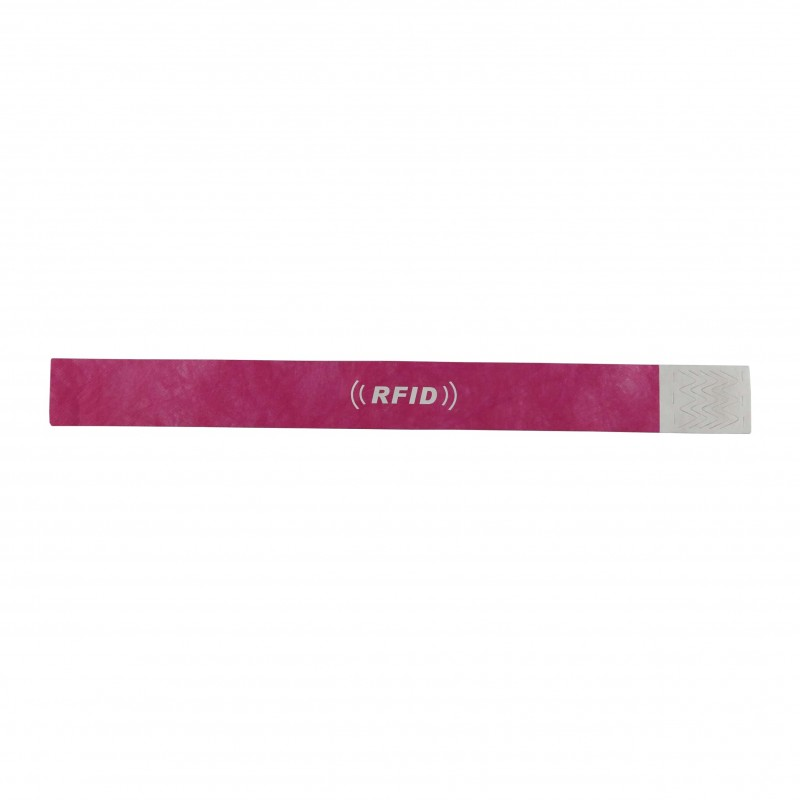 RED ENVIRONMENTAL PAPER WRISTBAND From Xinyetong