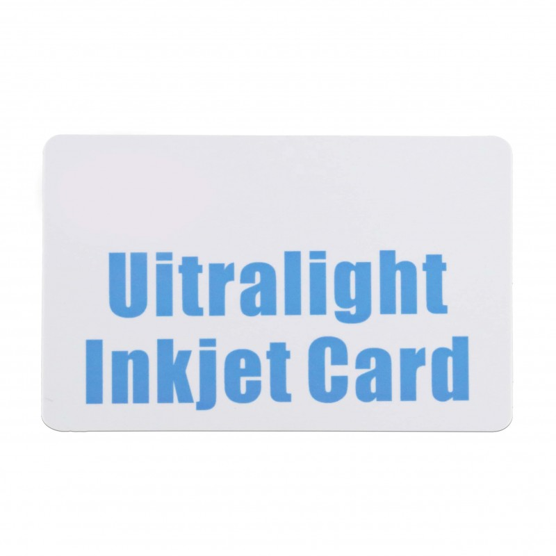 ULTRALIGHT INKJET CARD DIRECTLY PRINTED BY EPSON OR CANON PRINTER From Xinyetong