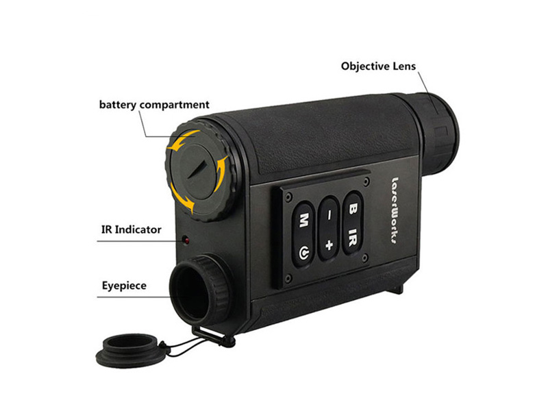 Night Vision Range Finder