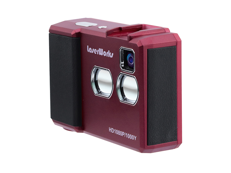Laser Range Finder with Camera