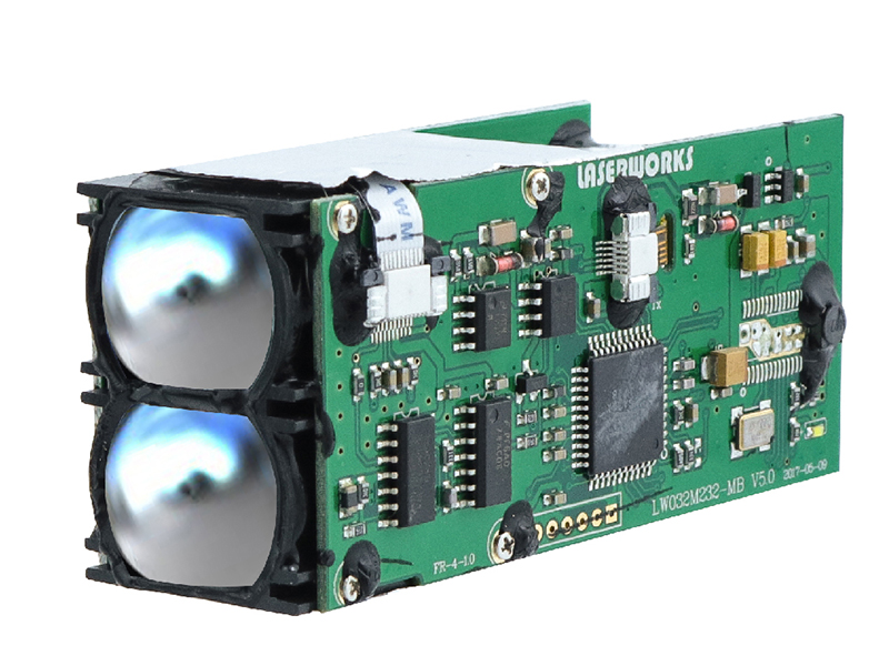 laser rangefinder with rs232