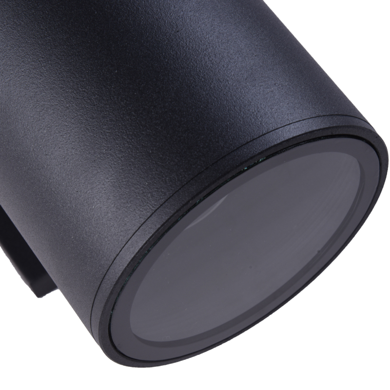 black-exterior-light