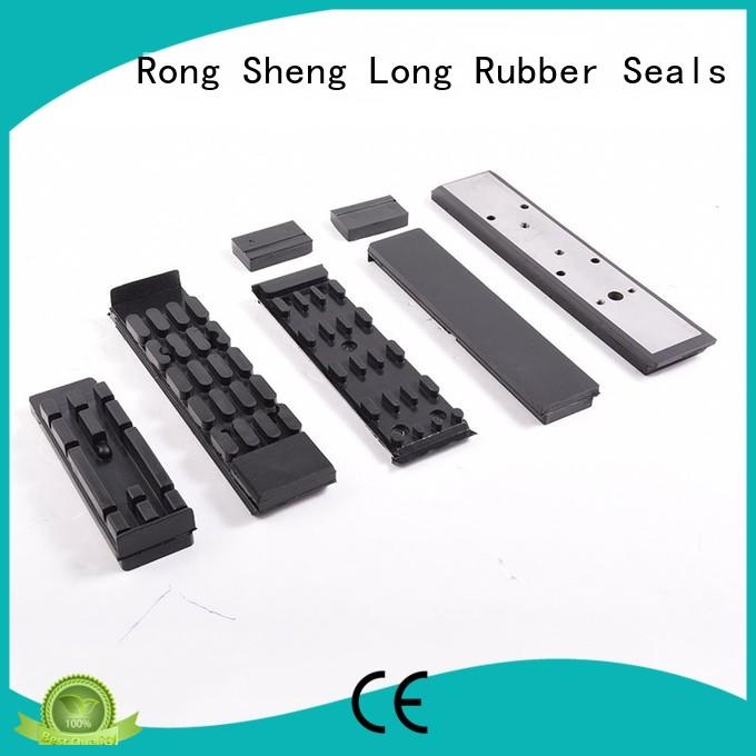 Rubber conveyor chains