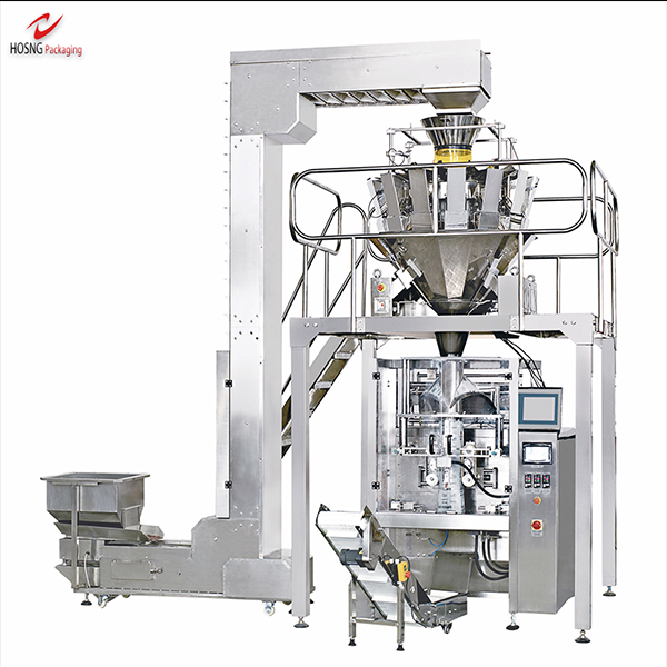 Which industries is the automated packaging machine suitable for?