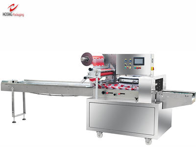 HS450W Cereal Pillow Type Packaging Machine