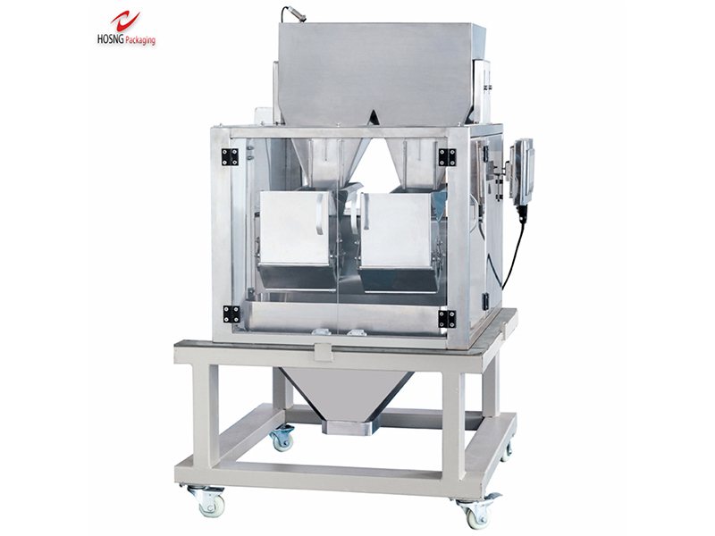 2 Multi-heads Washing Powder Multifunctional Packaging Machine
