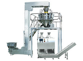Automatic Multi Head Weigher Double Head Premade Packaging Machine