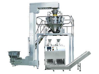 Automatic Multi Head Weigher Material Powder Pre-made Bag Packaging Machine