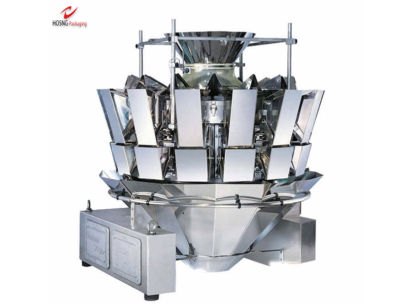 1.6L 14 Multi-heads Weigher Automatic Filling Machine