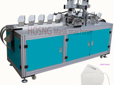 N95 Automated Mask Ear Loop Sealer Machine