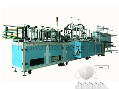 N95-FFP2-FFP3 Fully Automatic Face Mask Making Machine