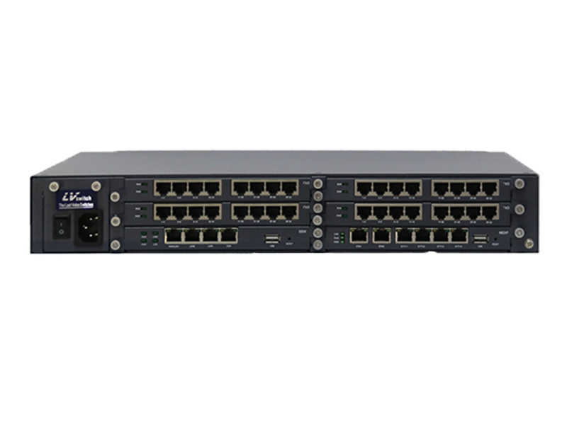 VOIP Telephony IP PBX 6000A