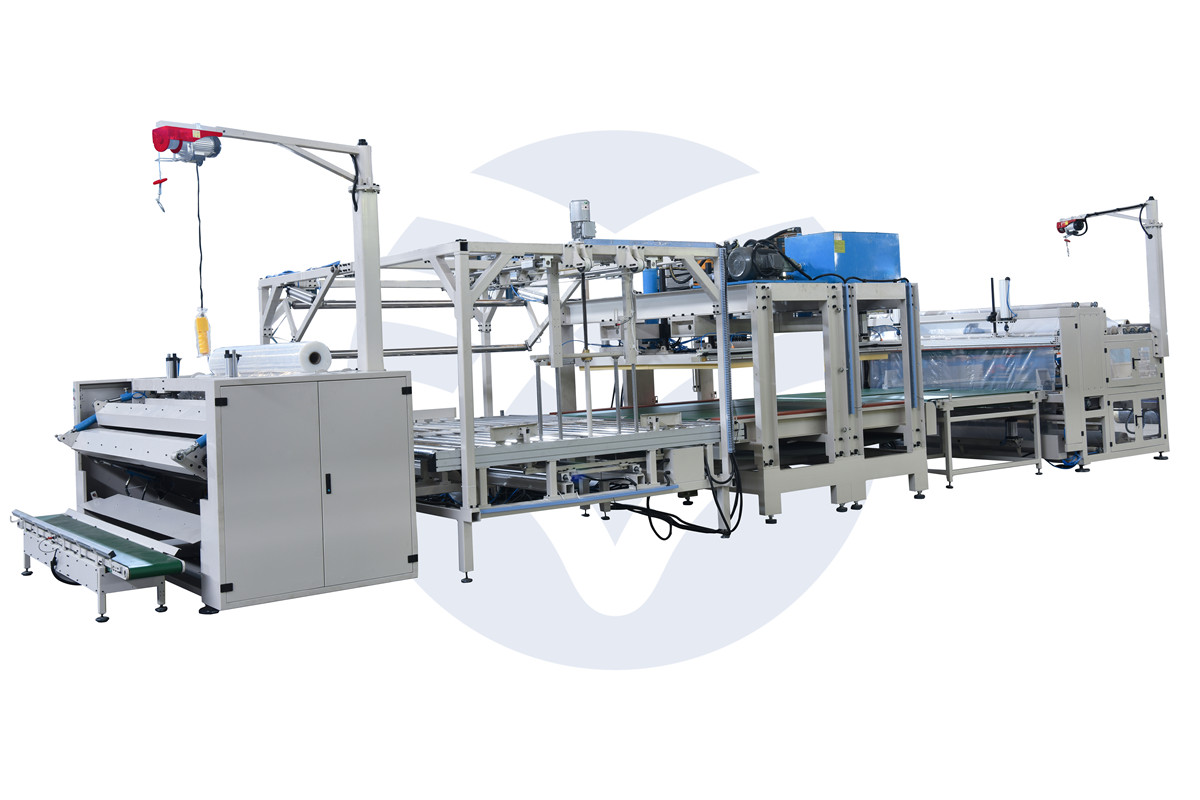Mattress Compress and Roll Packing Machine(YT-BZ-05)