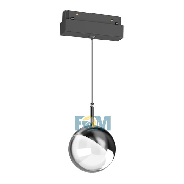 Magnetic track light