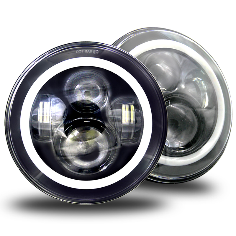 What causes the car headlight bulbs not to light up?
