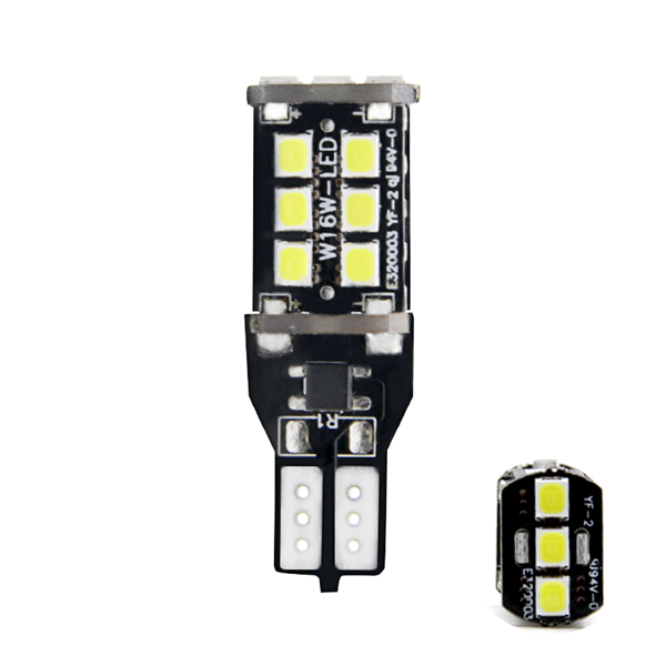 LED Reverse Light T15 LED Canbus (2815BSAWVNPCB)