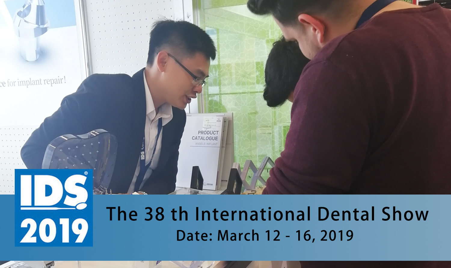The 38th International Dental Show (IDS) in Cologne, Germany